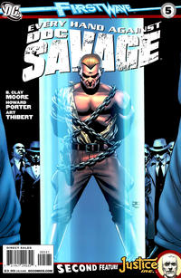 Cover for Doc Savage (DC, 2010 series) #5