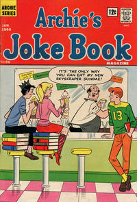 Cover Thumbnail for Archie's Joke Book Magazine (Archie, 1953 series) #96