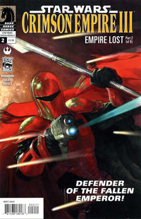 Cover Thumbnail for Star Wars: Crimson Empire III - Empire Lost (Dark Horse, 2011 series) #2