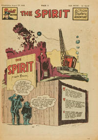 Cover Thumbnail for The Spirit (Register and Tribune Syndicate, 1940 series) #8/29/1948