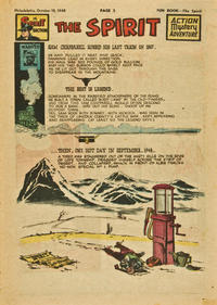 Cover Thumbnail for The Spirit (Register and Tribune Syndicate, 1940 series) #10/10/1948