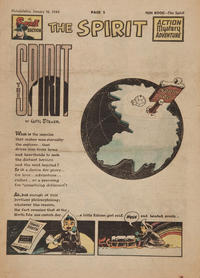 Cover Thumbnail for The Spirit (Register and Tribune Syndicate, 1940 series) #1/16/1949