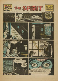 Cover Thumbnail for The Spirit (Register and Tribune Syndicate, 1940 series) #9/19/1948