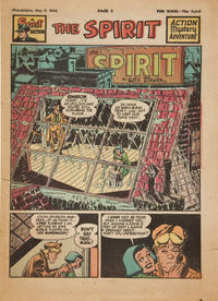 Cover Thumbnail for The Spirit (Register and Tribune Syndicate, 1940 series) #5/9/1948