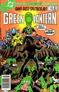 Cover for Green Lantern (DC, 1976 series) #198 [Newsstand]
