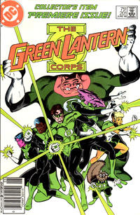 Cover for Green Lantern (DC, 1976 series) #201 [Newsstand]