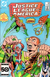 Cover Thumbnail for Justice League of America (DC, 1960 series) #243 [Direct Sales (Comic Book Stores)]