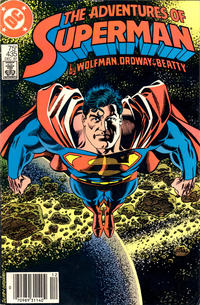 Cover for Adventures of Superman (DC, 1987 series) #435