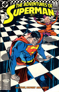 Cover Thumbnail for Adventures of Superman (DC, 1987 series) #441 [Direct Sales (Comic Book Stores)]