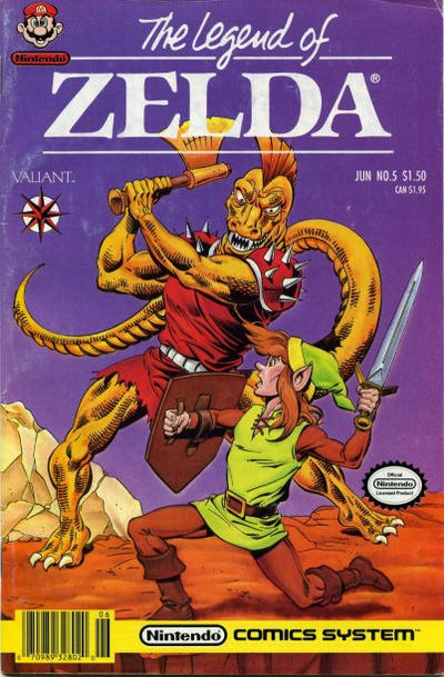 Cover for The Legend of Zelda (Acclaim / Valiant, 1990 series) #5