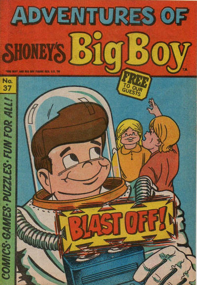 Cover for Adventures of Big Boy (Paragon Products, 1976 series) #37