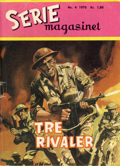 Cover for Seriemagasinet (1955 series) #4/1970