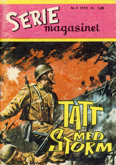 Cover for Seriemagasinet (1955 series) #2/1970