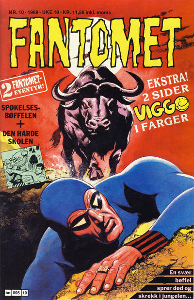 Cover for Fantomet (1976 series) #10/1989
