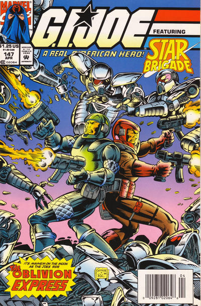 Cover for G.I. Joe, A Real American Hero (Marvel, 1982 series) #147
