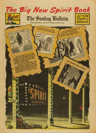 Cover for The Spirit (Register and Tribune Syndicate, 1940 series) #2/23/1947
