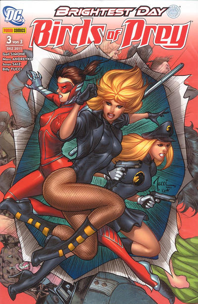Cover for Birds of Prey (2011 series) #3