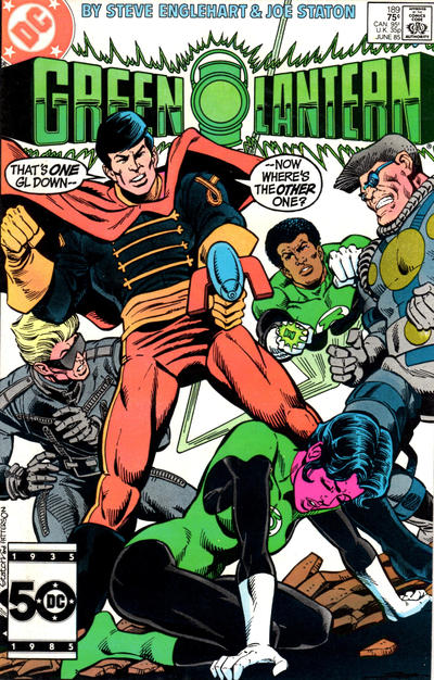 Cover for Green Lantern (DC, 1976 series) #189 [Direct]