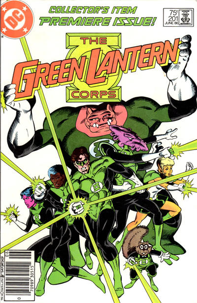 Cover for Green Lantern (DC, 1976 series) #201 [Direct]
