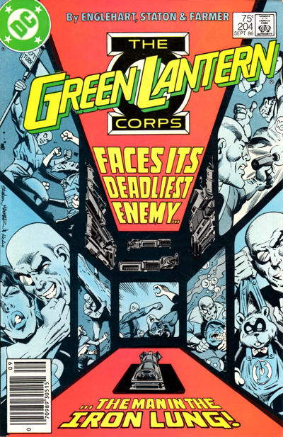 Cover for Green Lantern (1976 series) #204 [Direct]