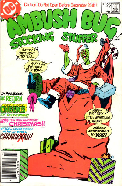 Cover for Ambush Bug Stocking Stuffer (DC, 1986 series) #1