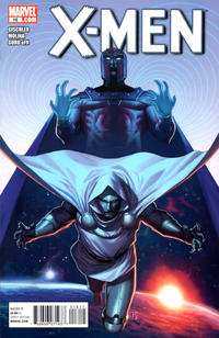 Cover for X-Men (Marvel, 2010 series) #16 [2nd Printing Variant by Jorge Molina]