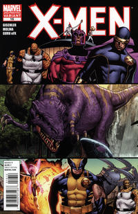 Cover Thumbnail for X-Men (Marvel, 2010 series) #16 [2nd Printing Variant by Jorge Molina]