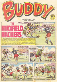Cover Thumbnail for Buddy (D.C. Thomson, 1981 series) #34