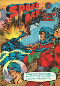Cover Thumbnail for Space Ace (Atlas Publishing, 1960 series) #19