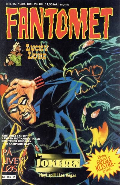 Cover for Fantomet (1976 series) #15/1989