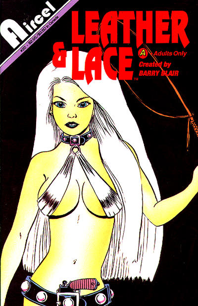 Cover for Leather & Lace (Malibu, 1989 series) #22