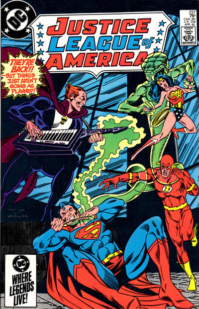 Cover for Justice League of America (DC, 1960 series) #237