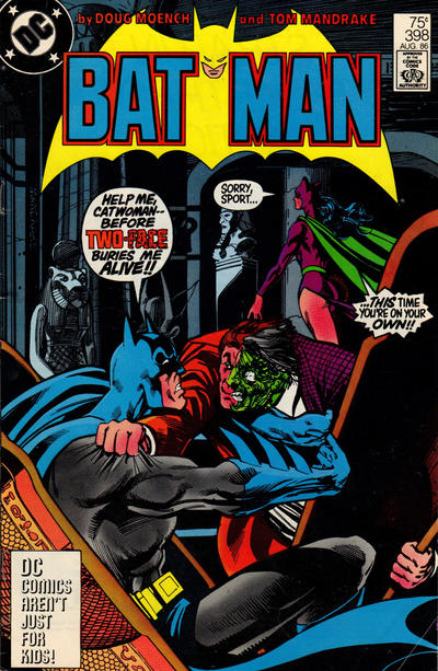 Cover for Batman (DC, 1940 series) #398 [Second Printing]