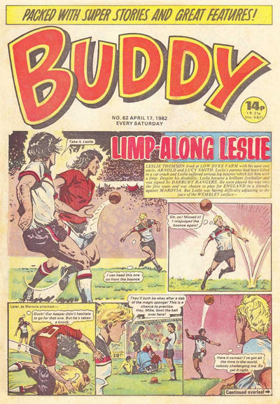 Cover for Buddy (1981 series) #62