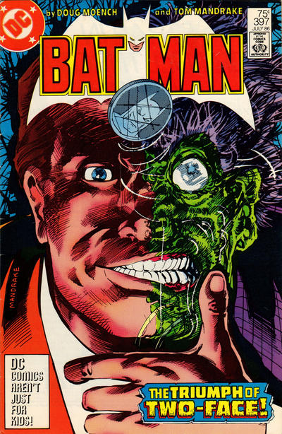 Cover for Batman (DC, 1940 series) #397 [Direct Sales]