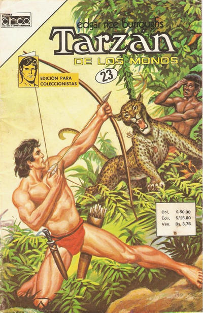 Cover for Tarzan (Editora Cinco, 1983 series) #23