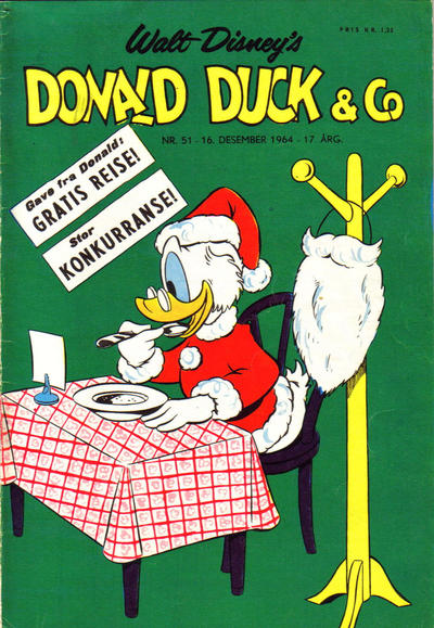 Cover for Donald Duck & Co (Hjemmet, 1948 series) #51/1964
