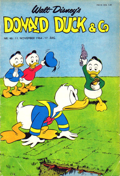 Cover for Donald Duck & Co (Hjemmet, 1948 series) #46/1964