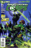 Cover for Green Lantern Corps (DC, 2011 series) #4 [Direct Edition]