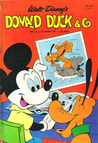 Cover Thumbnail for Donald Duck & Co (Hjemmet, 1948 series) #13/1971