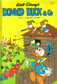 Cover Thumbnail for Donald Duck &amp; Co (Hjemmet, 1948 series) #19/1971