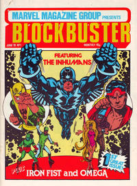 Cover Thumbnail for Blockbuster (Marvel UK, 1981 series) #1