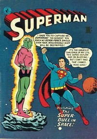 Cover Thumbnail for Superman (K. G. Murray, 1947 series) #134
