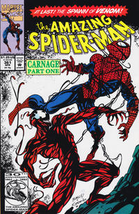 Cover Thumbnail for The Amazing Spider-Man (Marvel, 1963 series) #361 [Direct Edition]