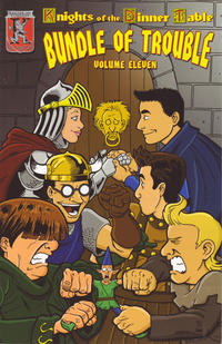 Cover Thumbnail for Knights of the Dinner Table: Bundle of Trouble (Kenzer and Company, 1998 series) #11