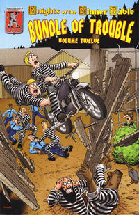 Cover Thumbnail for Knights of the Dinner Table: Bundle of Trouble (Kenzer and Company, 1998 series) #12