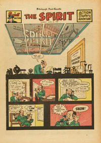 Cover Thumbnail for The Spirit (Register and Tribune Syndicate, 1940 series) #6/19/1949