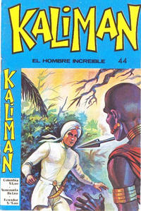 Cover for Kaliman (Editora Cinco, 1976 series) #44