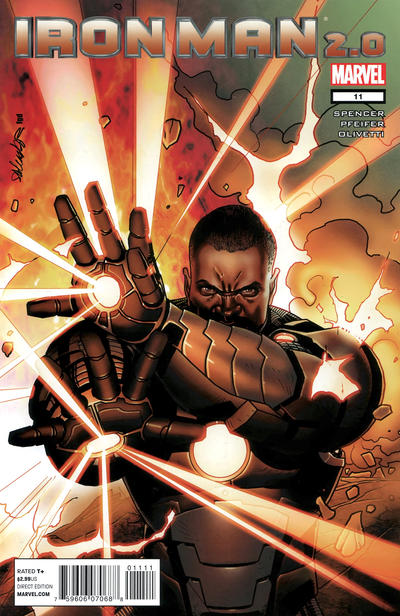 Cover for Iron Man 2.0 (Marvel, 2011 series) #11
