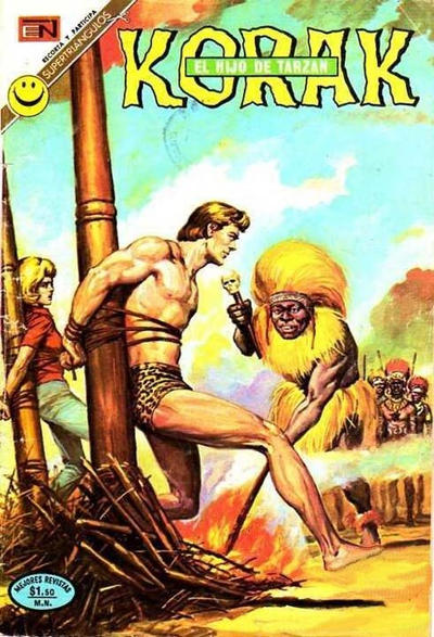 Cover for Korak (Editorial Novaro, 1972 series) #3